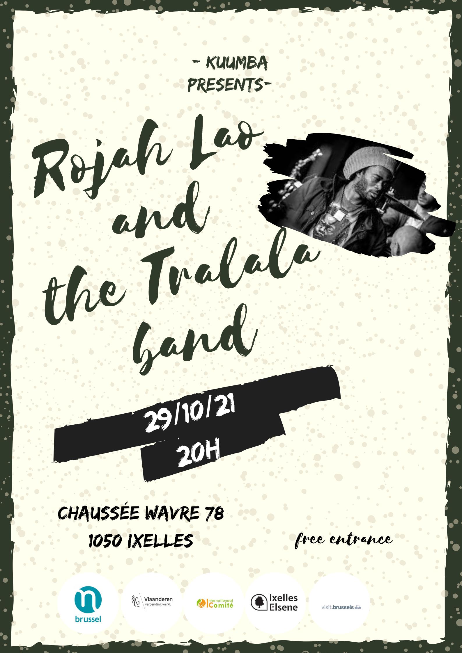 Rojah Lao and the Tralala band
